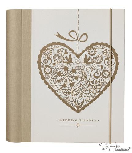 Wedding planner book journal organiser great engagement gift