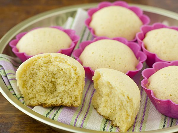 Japanese Steamed Egg Buns (Mushi Pan) + A Giveaway!