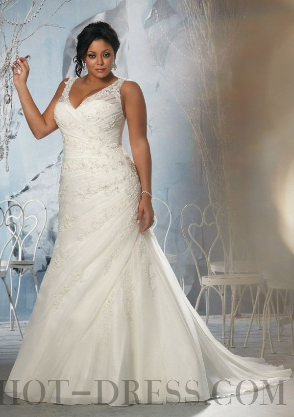 plus length dresses white