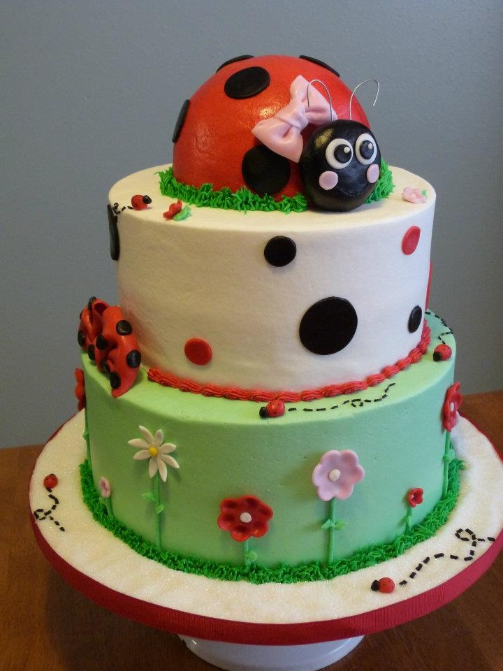 lady bug baby shower cake baby williams pinterest