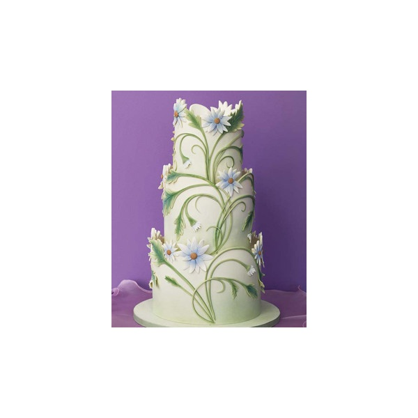 Art deco wedding cake cake decorating pinterest for Art deco cake decoration
