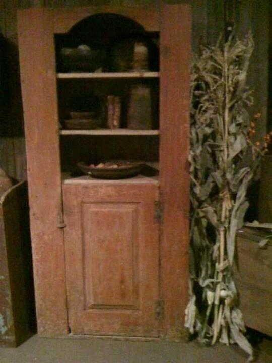 Log Cabin Primitives | My dream home | Pinterest