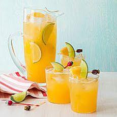 Pineapple-Lime Cooler | Drinks | Pinterest