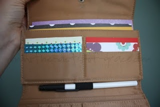 busy wallet for travel or long waaits