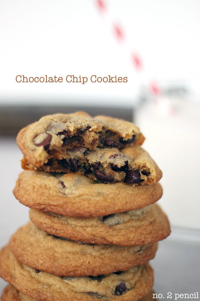 ... chocolate chip cookies, but they have the best flavor! These cookies