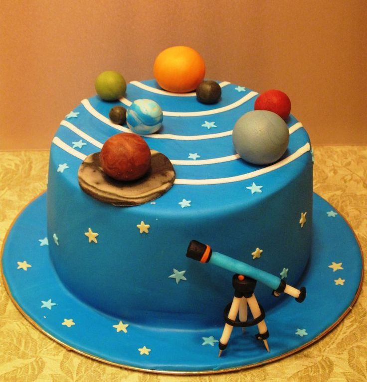 Solar System Cake Toppers