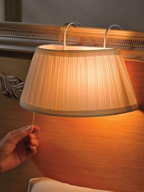 headboard lamp reading light for bed apartment living pinterest. Black Bedroom Furniture Sets. Home Design Ideas