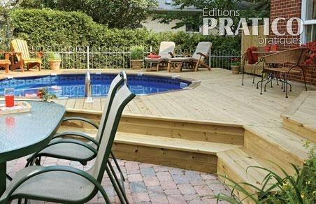 piscine semi creusee home pinterest. Black Bedroom Furniture Sets. Home Design Ideas