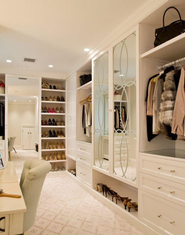 Pretty Walk In Closet My Future Home Pinterest