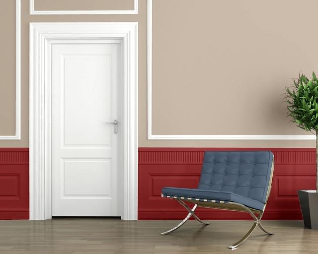 Prestins Bedroom Color Scheme Red Bay Sw