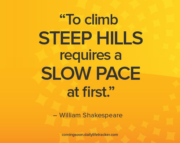 Image result for hill I climb gets steeper