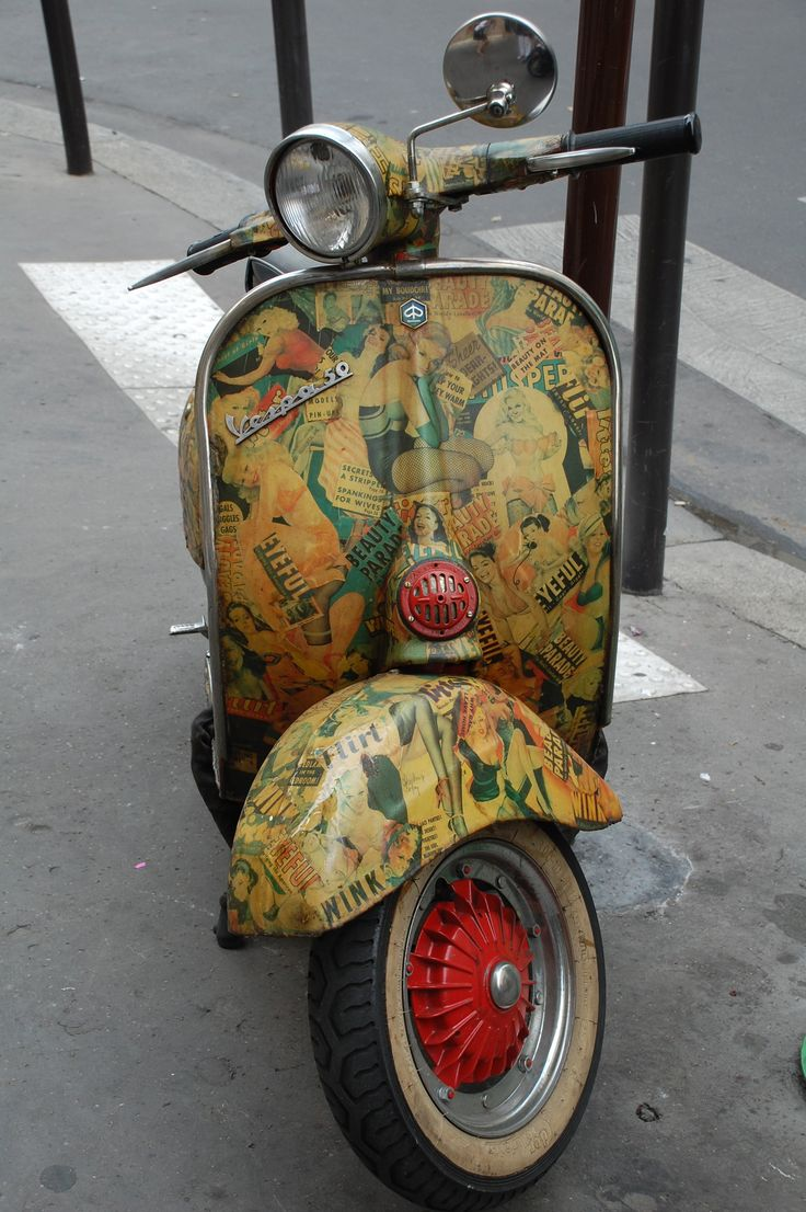 scooter in paris sweeet pinterest. Black Bedroom Furniture Sets. Home Design Ideas