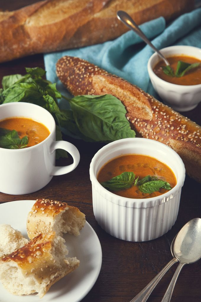 Everyone should have a go-to tomato soup recipe in their arsenal. This one pot dish is simple, vegan, flavorful, and oh-so-satisfying.