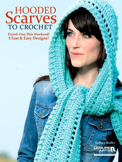 Crochet Patterns Hooded Scarf : Hooded Scarves To Crochet Pattern crochet Pinterest