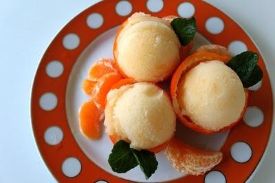 Tangerine Ginger Sorbet :)   Sweet Desserts   Pinterest