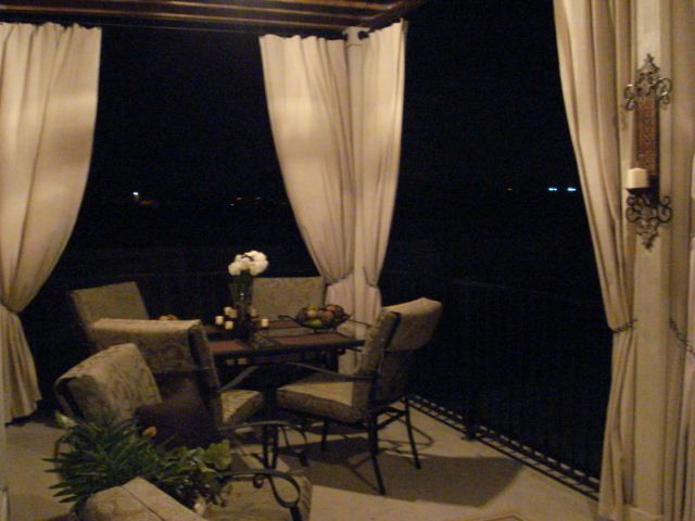 Painter Drop Cloth Outdoor Curtains Our Home Pinterest