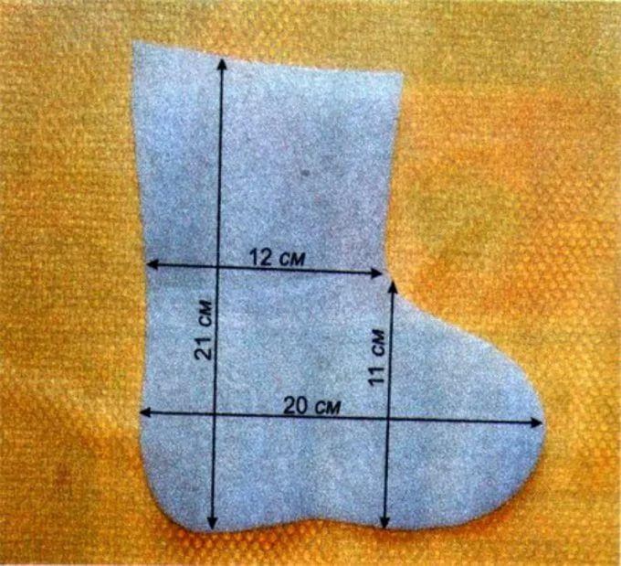 Как сделать носки из ткани 864