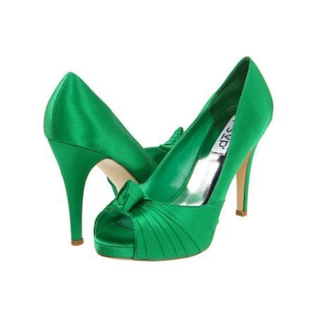 rsvp Glory Women's Bridal Shoes - Green