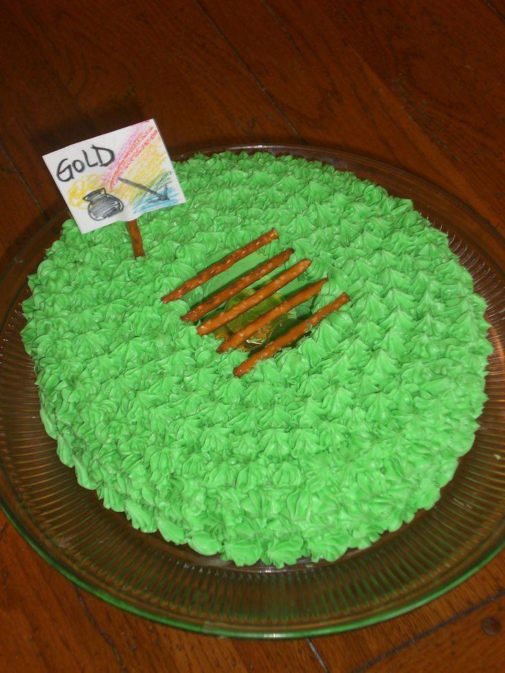 Leprechaun Trap Rainbow Cake St Patricks Day Pinterest