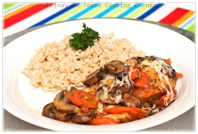 Baked Paprika Chicken and Mushrooms | Chicken/Turkey Recipes | Pinter ...