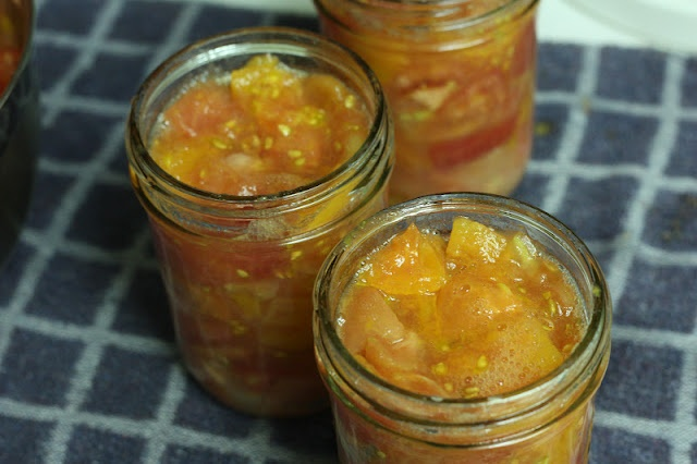 Canning diced tomatoes | Food | Pinterest