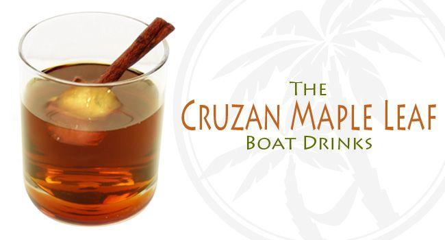 Cruzan Maple Leaf Cocktail Recipe** - 2 parts Cruzan Estate Diamond ...