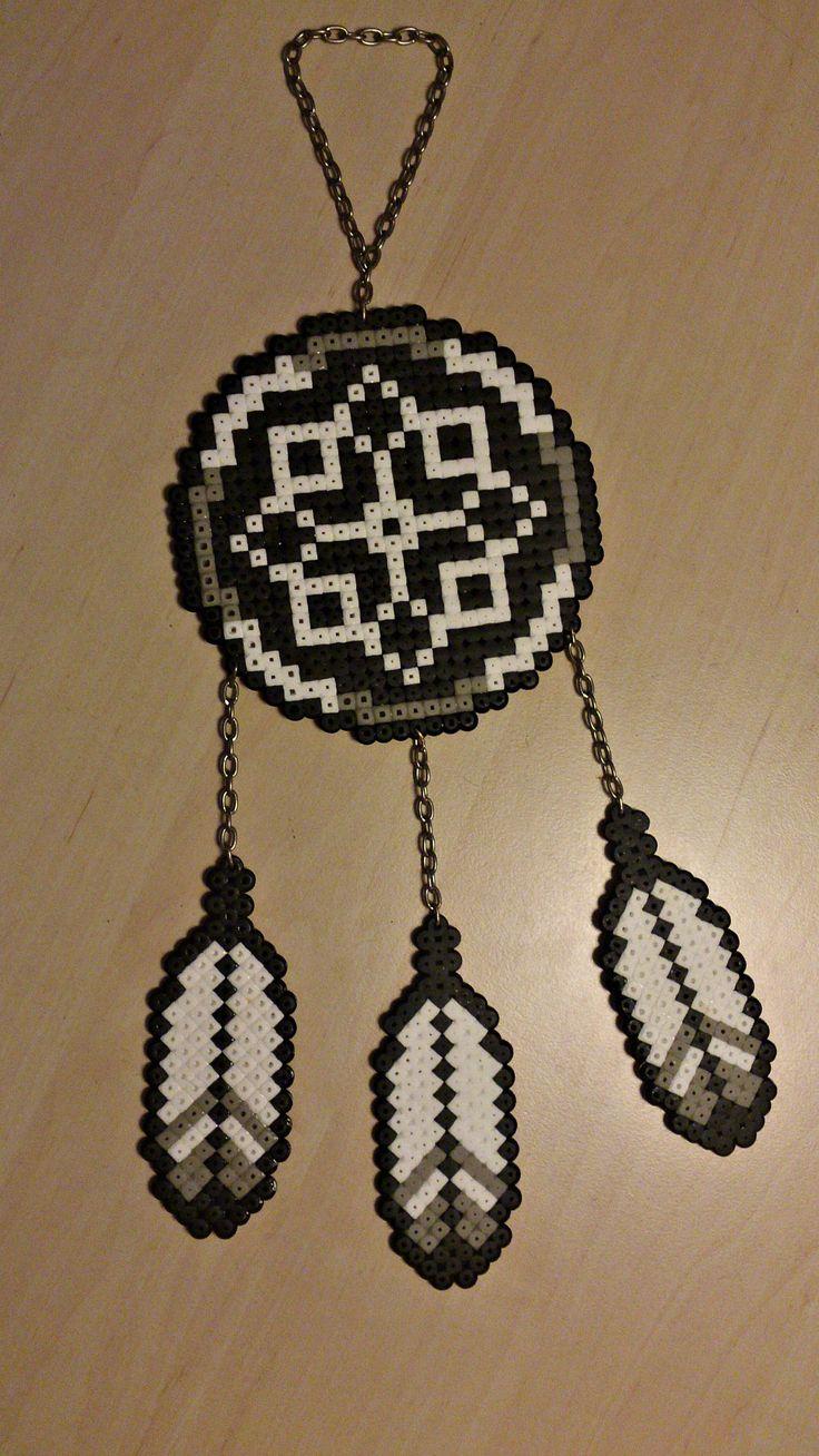 Pin by helene clausen on perler pinterest for Dreamcatcher beads meaning