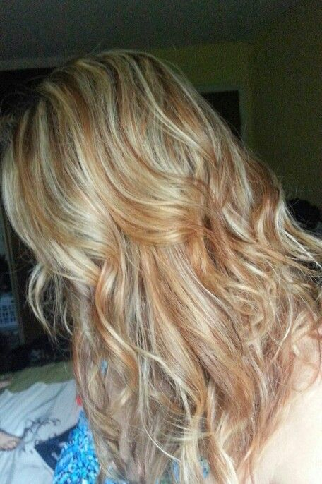 Blonde and caramel highlights beauty pinterest for Caramel blond