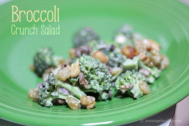 Broccoli Crunch Salad (a la Whole Foods) | Salad | Pinterest