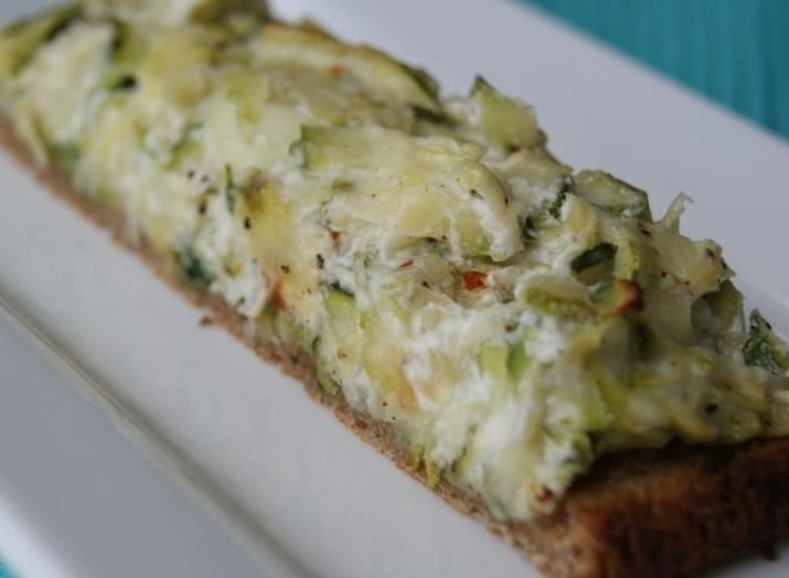 Zucchini Toasts | Foodie finds | Pinterest