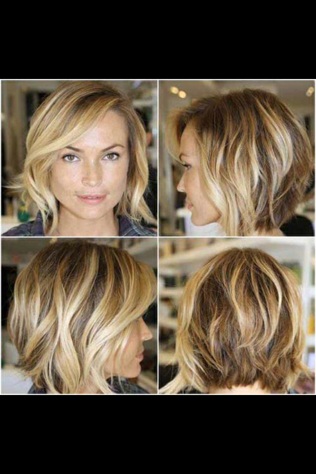Messy concave bob | Hair etc | Pinterest