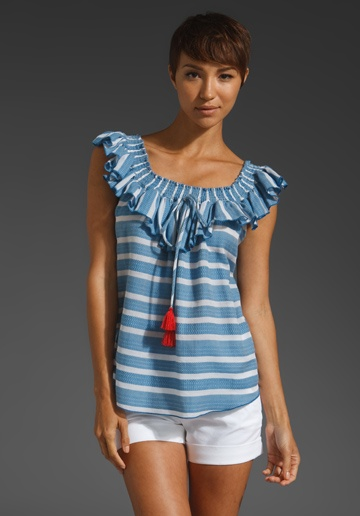 Zydeco Peasant Blouse 111