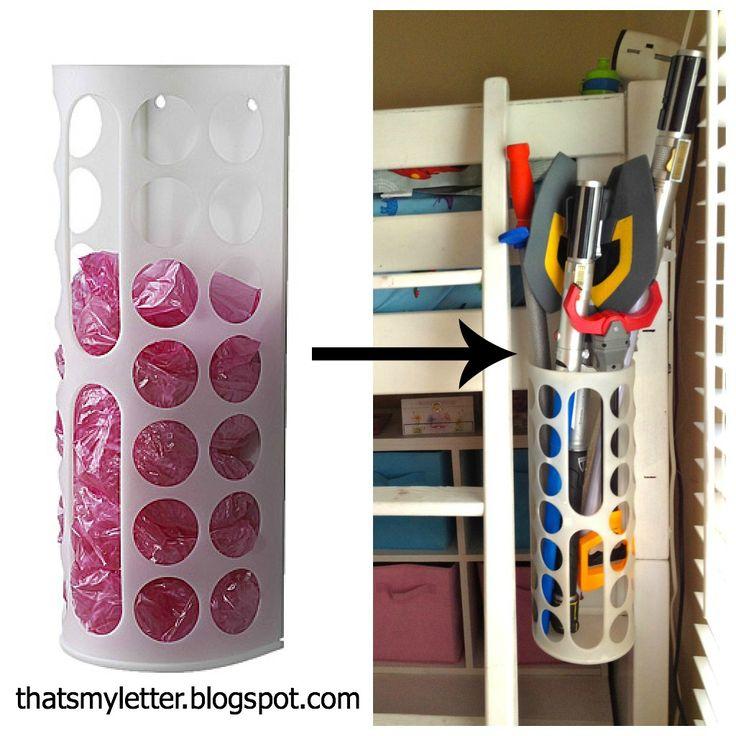 Ikea Aspelund Bed Measurements ~   this plastic bag dispenser , plastic bags and plastic bag holders