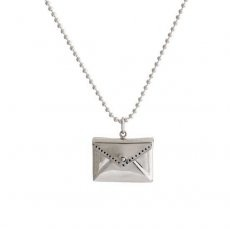 Envelope with Your Message Necklace - front