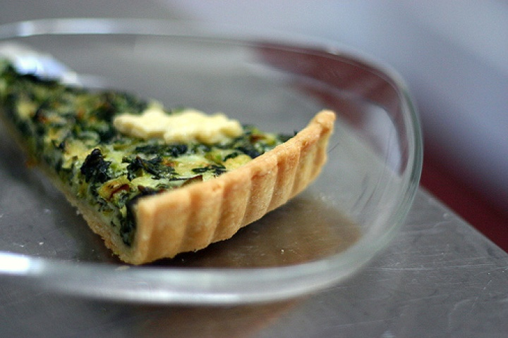 Spinach Quiche | Veggie/Vegan Recipes | Pinterest