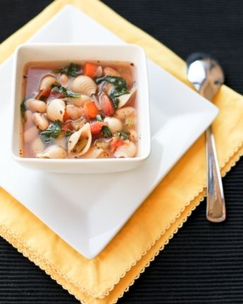 Pasta & Bean Soup | Recipe Ideas | Pinterest