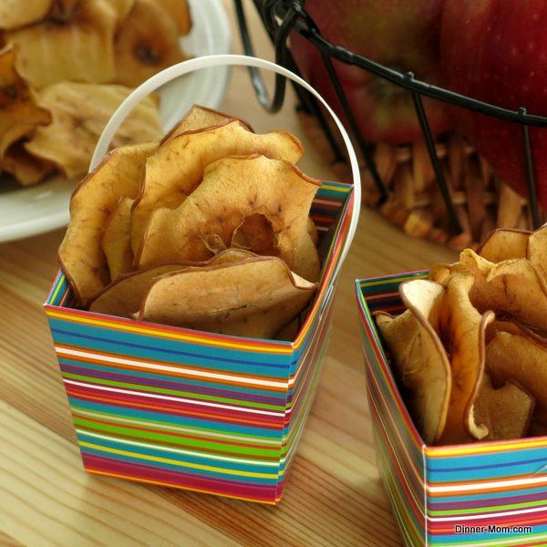 Baked Apple Chips - Easy tips to just slice and bake!