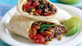 ... ? Smokey Black Bean & Cheddar Burrito with Baby Spinach fit_burrito