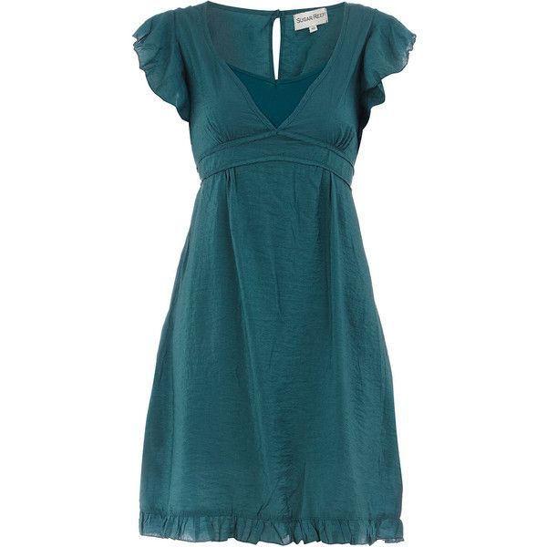 Teal Dress Found On Polyvore