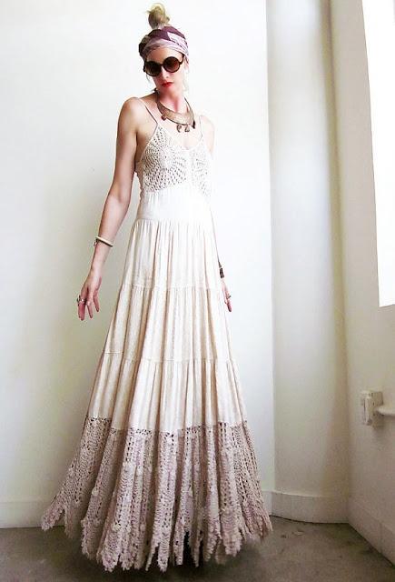 Hippie wedding dresses hippie style pinterest for Boho dresses for weddings