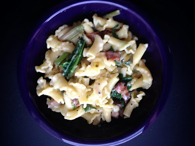 Cake and Bourbon: ramps carbonara | Savory Tastes | Pinterest