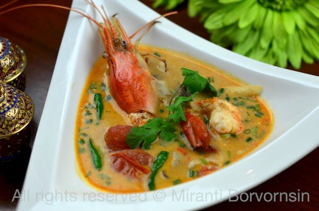 Tom Yum Goong, Thai spicy hot and sour soup with shrimp by The High ...