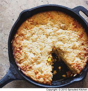 Breads and Muffins: Cast Iron Cornbread Recipe