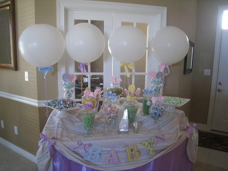 baby shower candy table baby shower ideas pinterest