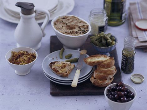 Chicken Liver Pate | .Appetizers & Starters. | Pinterest