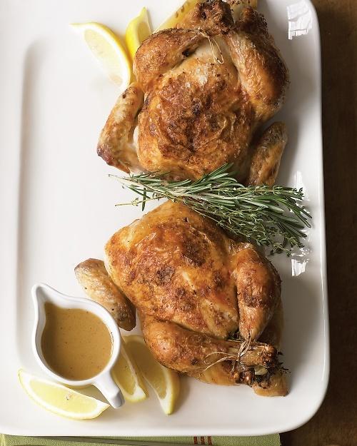 Pan Sauce for Roast Chicken - Martha Stewart Recipes