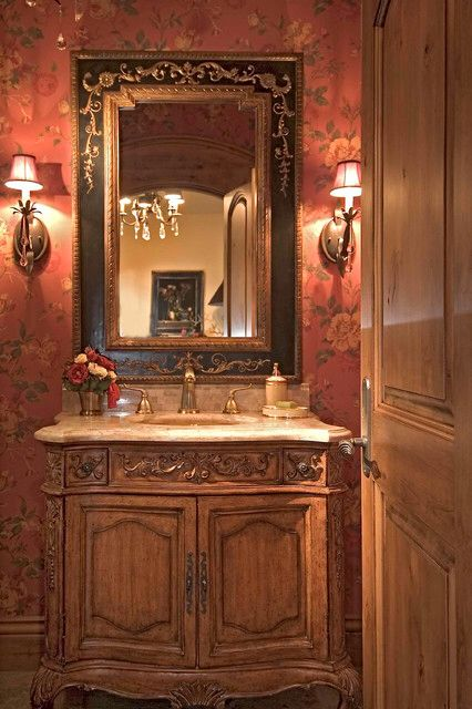 Nice Bath Tuscan Old World Mediterranean Decor Pinterest