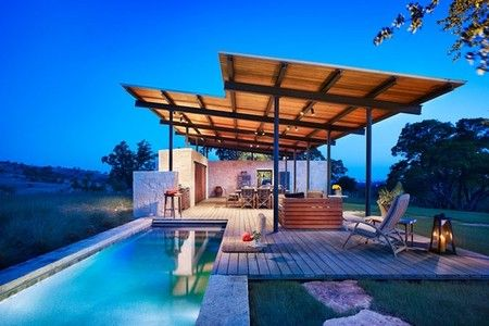 2 story pool house sumally dream home pinterest for 2 story house with pool