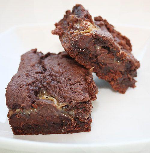 chocolate caramel brownie | In my kitchen | Pinterest