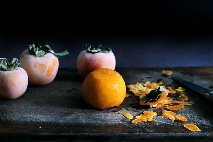 Creamy Persimmon Sorbet Recipe — Dishmaps